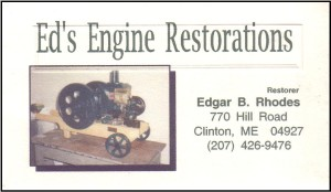 Ed's Engine Restorations