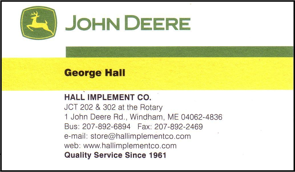 Hall Implement Co