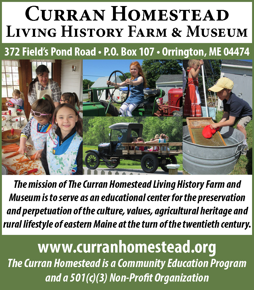 Curran Homestead dbl ad