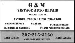 GM Vintage Auto Repair